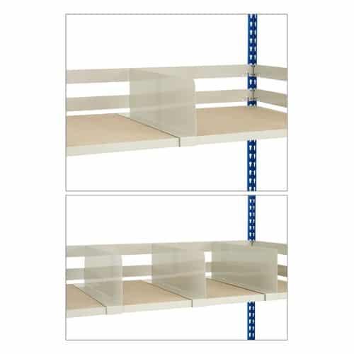 GS340 Shelving - Shelf Dividers