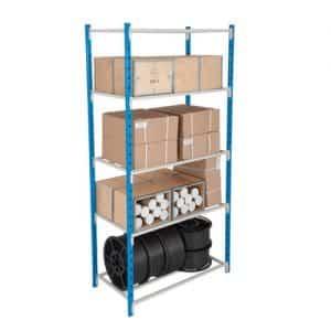 Tubular Shelving Bays - 5 Tubular Shelves 2000h x 1250w