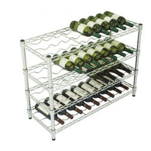 36 Bottle Wine Storage Unit - 4 Shelves