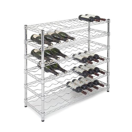 54 Bottle Wine Storage Unit - 6 Shelves