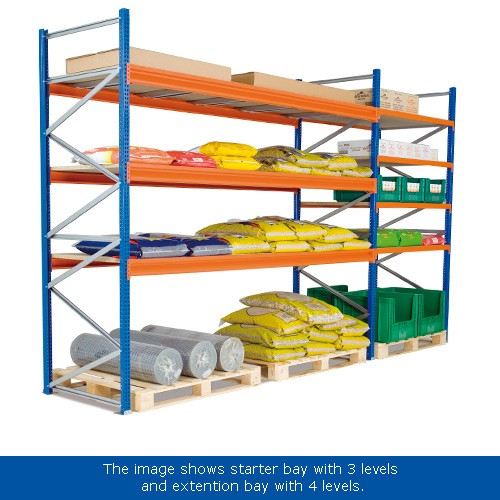 Wide Span 2500h Racking System