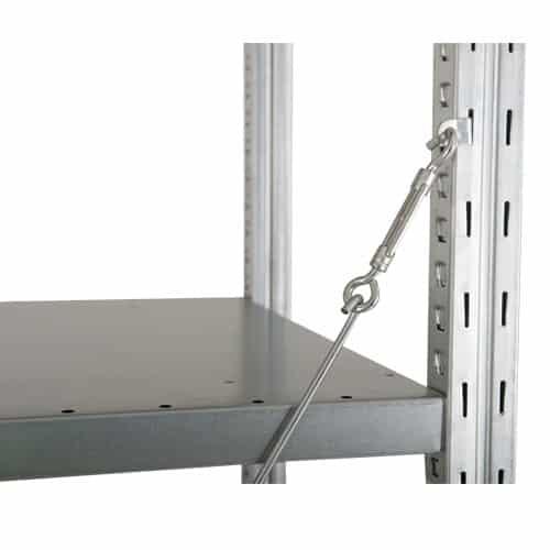 Steel Shelving - Additional Shelf 1250w