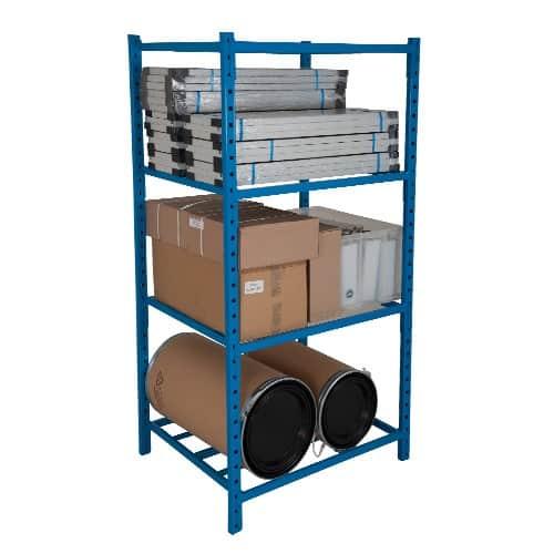 Heavy Duty Tubular Shelving - 5 Shelves 2000h x 1260w