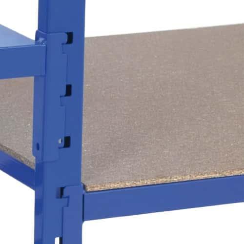 Heavy Duty Tubular Shelving - Pack of 5 Hardboard Covers