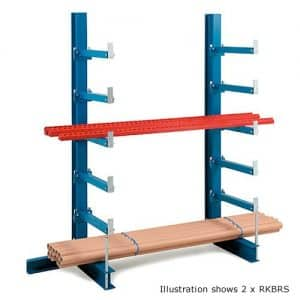Cantilever Single Sided Bar Rack 5 Arms