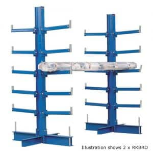 Cantilever Double Sided Bar Rack 10 Arms