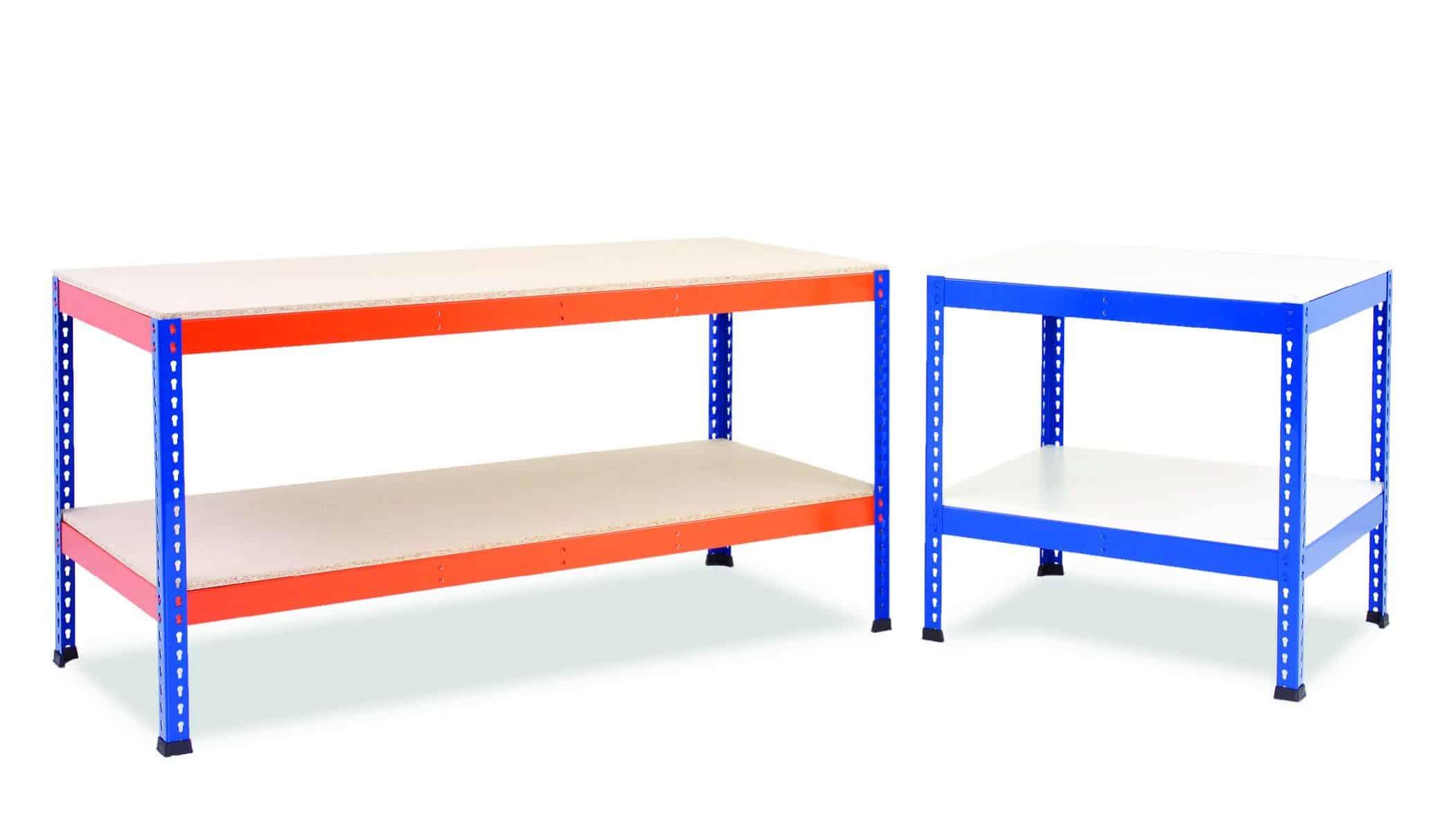 Heavy Duty Workbenches – Plus Lower Shelf