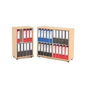 Mobile Lever Arch File Storage Units
