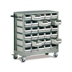 30 Drawer Trolley