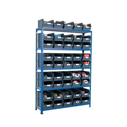 Rapid 2 Shelving (1600hx1120w) - 45 picking bins