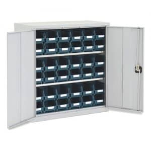 Lockable Bin Cupboard with 36 No.103 bins