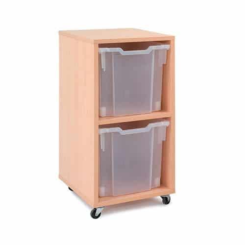 Jumbo Tray Storage Units - 2 Trays NO TRAYS