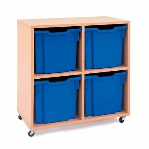 Jumbo Tray Storage Units - 4 Trays  NO TRAYS