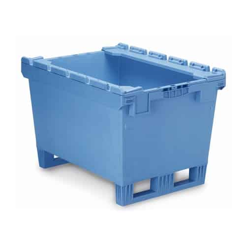 Stack Rail Fork Entry Industrial Containers