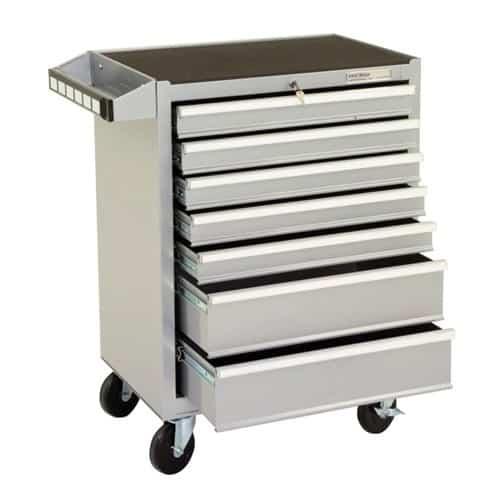 Silver Range 7 Drawer Mobile Cabinet