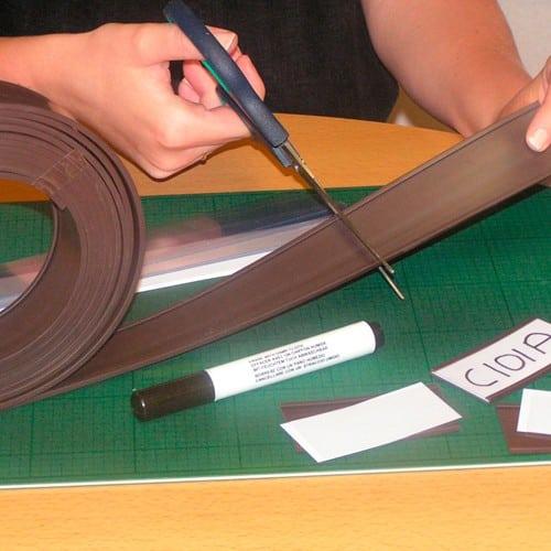 Magnetic Label Holder Rolls