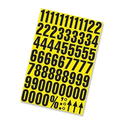 Self Adhesive Numbers - 38mm high