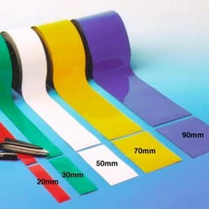 Narrow Magnetic Marker Strips