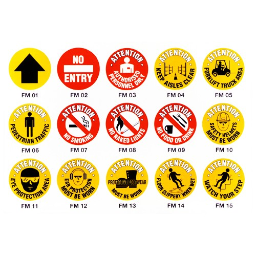 Safety Floor Markers