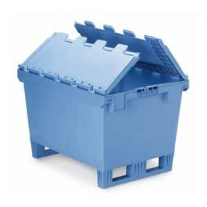 Full Lid Fork Entry Industrial Containers