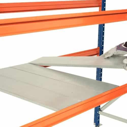 Wide Span Heavy Duty Galvanized Panels
