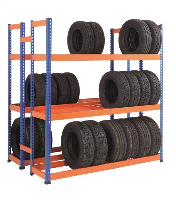 GS800 Heavy Duty Tyre Rack - Double Sided