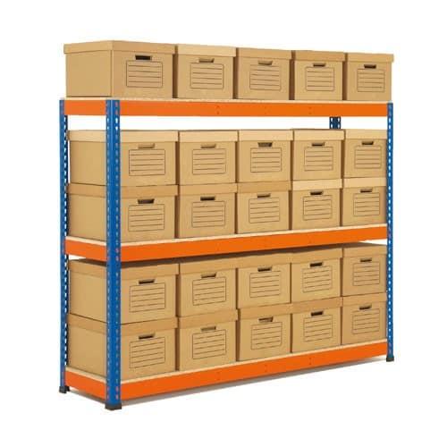 GS800 Archive Storage Bay 35 boxes 2100h x 1830w