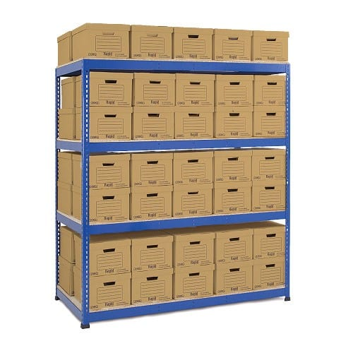 GS800 Double Sided Archive Storage - 100 Boxes