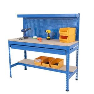 Extra Heavy Duty Work Stations - Full Width Drawer