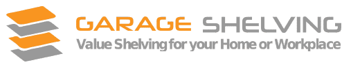 garage shelving logo